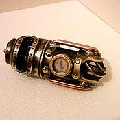 Субкультуры handmade. Livemaster - original item USB flash drive Turbine steampunk 32Gb. Handmade.