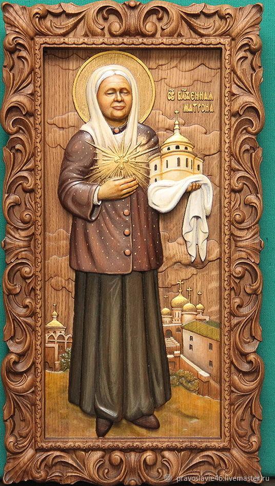 Икона святой Матроны Московской, Иконы, Курск,  Фото №1