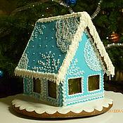 Подарки к праздникам handmade. Livemaster - original item Gingerbread House Lace. Handmade.