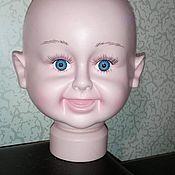 Материалы для творчества ручной работы. Ярмарка Мастеров - ручная работа Манекен детской головы. Handmade.