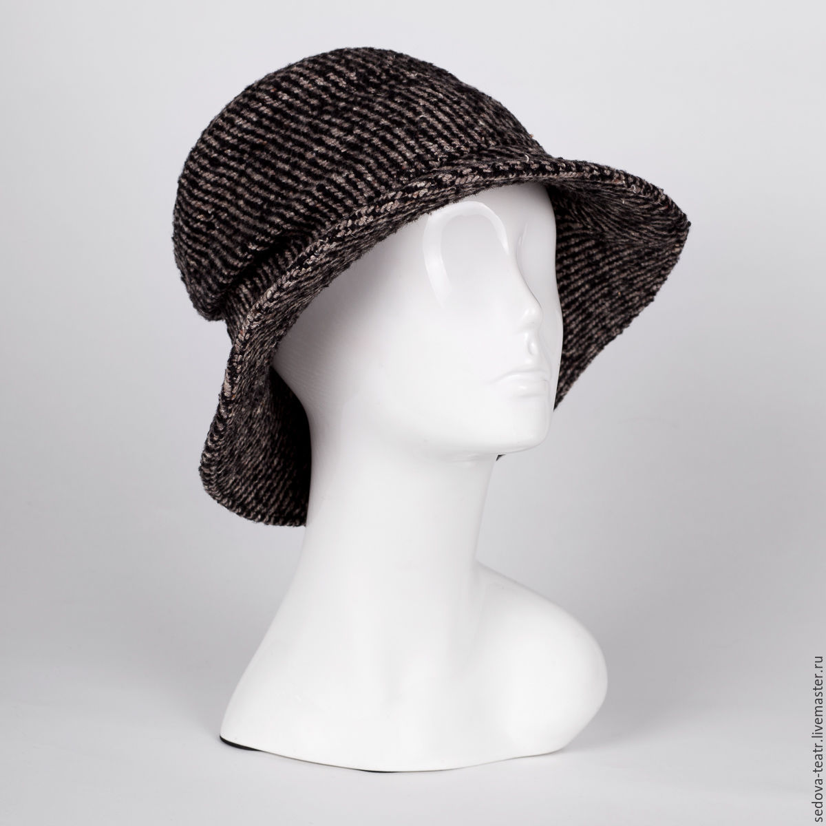 3f7f08ba0a74d8 ... brims · Fedoras & formal hats handmade. Order Flexible tweed hat Multi  style Bucket Hat with soft ...