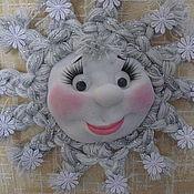 Куклы и игрушки ручной работы. Ярмарка Мастеров - ручная работа Снежинка. Handmade.