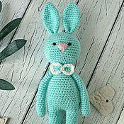 Куклы и игрушки handmade. Livemaster - original item Rabbit knitted. Handmade.