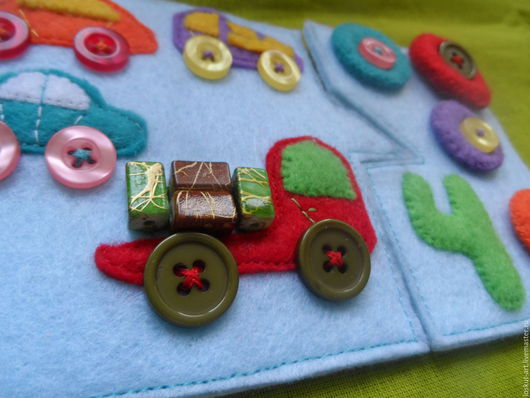 Развивающие игрушки ручной работы. Ярмарка Мастеров - ручная работа. Купить Тактильные карточки-пазлы (счёт, логика). Handmade. Комбинированный