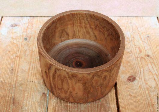 Тарелки ручной работы. Ярмарка Мастеров - ручная работа. Купить Деревянная тарелка-миска из ясеня.(15х9.2). Handmade. Желтый