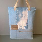Сумки и аксессуары handmade. Livemaster - original item Bag handbag shopper h & m. Handmade.