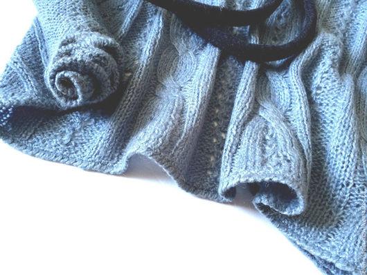 Пиджаки, жакеты ручной работы. Ярмарка Мастеров - ручная работа. Купить кардиган Нежное тепло. Handmade. Голубой, классика