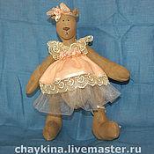 Куклы и игрушки ручной работы. Ярмарка Мастеров - ручная работа Медведица Акулина. Handmade.