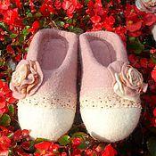 """Обувь ручной работы. Ярмарка Мастеров - ручная работа разм 39-40 """"Нежные"""" тапотули. Handmade."""