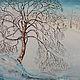 Пейзаж ручной работы. Ярмарка Мастеров - ручная работа. Купить Лето Осень Зима. Handmade. Осень, река, зелень, дерево