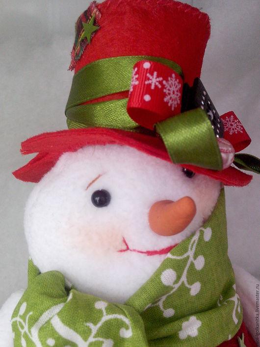 Сказочные персонажи ручной работы. Ярмарка Мастеров - ручная работа. Купить Снеговики. Handmade. Снеговик, интерьерная игрушка, хлопок