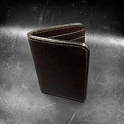 Сумки и аксессуары handmade. Livemaster - original item Purse leather for avtodokumentov mod.4.1. Handmade.