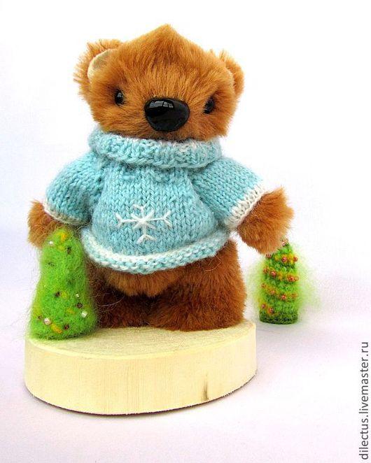 Мишки Тедди ручной работы. Ярмарка Мастеров - ручная работа. Купить Мишка Дениска. Handmade. Бежевый, авторский, юноше, мужчине