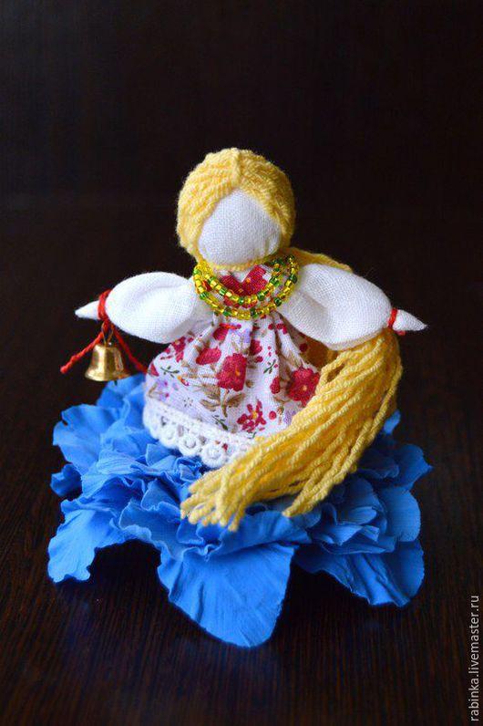 """Народные куклы ручной работы. Ярмарка Мастеров - ручная работа. Купить Кукла """"Анютка"""". Handmade. Разноцветный, цветок ручной работы"""