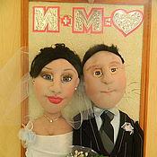 Куклы и игрушки ручной работы. Ярмарка Мастеров - ручная работа Куклы по фото День свадьбы. Handmade.