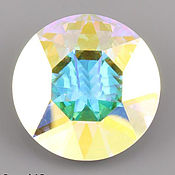 Материалы для творчества ручной работы. Ярмарка Мастеров - ручная работа Макси 27мм шатон 1201  цвет Crystal AB. Handmade.