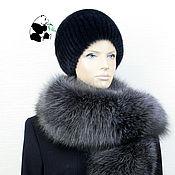 Аксессуары handmade. Livemaster - original item Luxury fur collar fur Fox