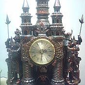 Сувениры и подарки ручной работы. Ярмарка Мастеров - ручная работа замок.часы. Handmade.