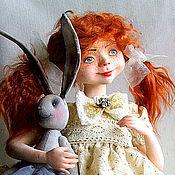Куклы и игрушки ручной работы. Ярмарка Мастеров - ручная работа Рыжая.. Handmade.
