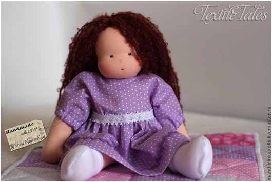 Вальдорфская игрушка ручной работы. Ярмарка Мастеров - ручная работа. Купить Вальдорфская кукла, Ирисочка 35 см. Handmade.