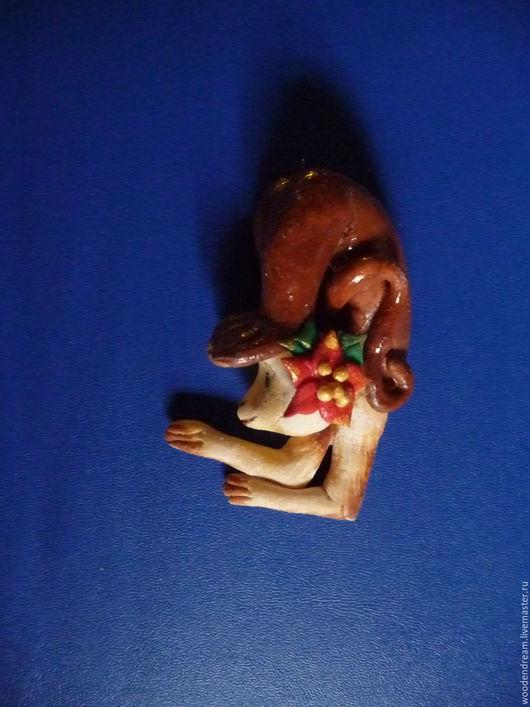 Игрушки животные, ручной работы. Ярмарка Мастеров - ручная работа. Купить Обезьянка. Handmade. Обезьянка в подарок, мукосол, коричневый