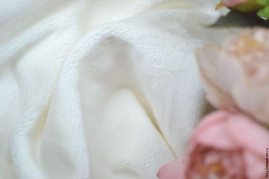 Куклы и игрушки ручной работы. Ярмарка Мастеров - ручная работа. Купить Опт ПЛЮШ-НОВ БЕЛЫЙ (от 5 м.п.; коротковорсный). Handmade.