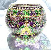 Для дома и интерьера handmade. Livemaster - original item Candle holder / vase