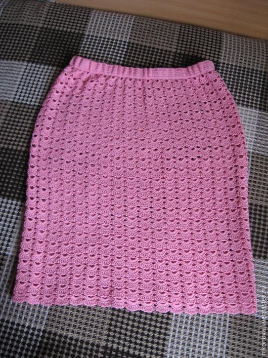 Юбки ручной работы. Ярмарка Мастеров - ручная работа. Купить Юбка Розовый жемчуг. Handmade. Розовый, нарядная юбка, лето2016