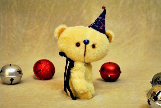 Мишки Тедди ручной работы. Ярмарка Мастеров - ручная работа. Купить Айя (новогодний милаха:-)). Handmade. Желтый