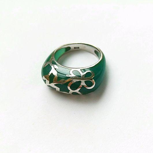Кольца ручной работы. Ярмарка Мастеров - ручная работа. Купить Кольцо Азалия. Handmade. Кольцо из серебра, в одном экземпляре