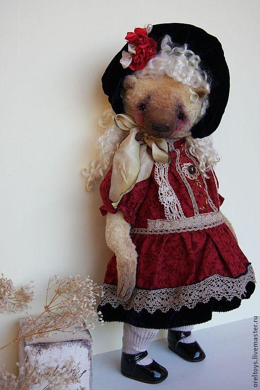 Мишки Тедди ручной работы. Ярмарка Мастеров - ручная работа. Купить Bear - doll. Handmade. Лимонный, olga orel
