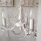 Для дома и интерьера handmade. Livemaster - original item chandelier tenderness. provence. shabby chic.. Handmade.