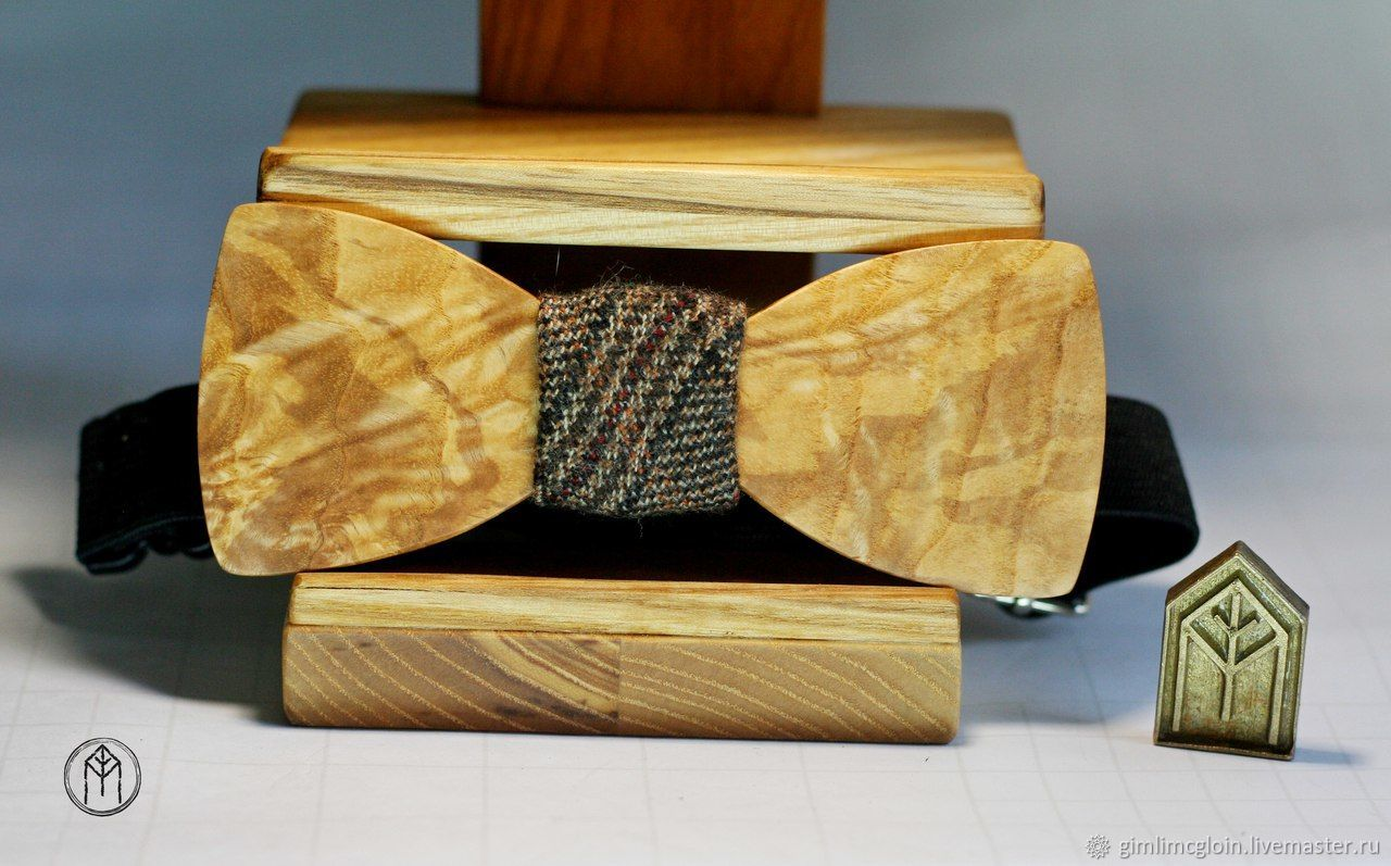 Bow tie made of wood, Ties, Tolyatti,  Фото №1