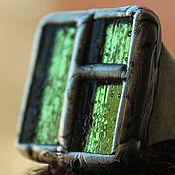 """Украшения ручной работы. Ярмарка Мастеров - ручная работа Кольцо """"Свет в окне"""" стекло.. Handmade."""