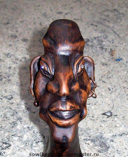 Подарки для мужчин, ручной работы. Ярмарка Мастеров - ручная работа. Купить Керамическая  трубка курительная Великий Инка. Handmade. Подарок