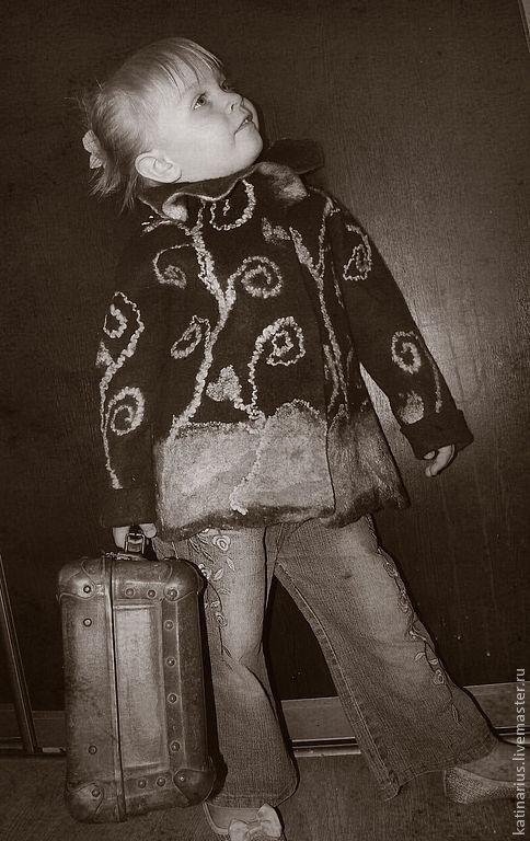 Одежда для девочек, ручной работы. Ярмарка Мастеров - ручная работа. Купить Жакет для маленькой леди. Handmade. Жакет для девочки