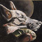 Картины ручной работы. Ярмарка Мастеров - ручная работа Пастель Почти сон. Handmade.
