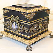 Для дома и интерьера handmade. Livemaster - original item Casket for jewelry Anna. Handmade.