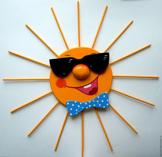 """Экстерьер и дача ручной работы. Ярмарка Мастеров - ручная работа. Купить Для дачи.Из фанеры и дерева """"Солнце МЭН"""" , """"Sun of MAN"""". Handmade."""