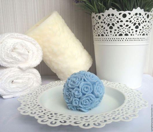 """Мыло ручной работы. Ярмарка Мастеров - ручная работа. Купить Мыло ручной работы """"Цветочный шар"""" в ассортименте. Handmade. Комбинированный"""