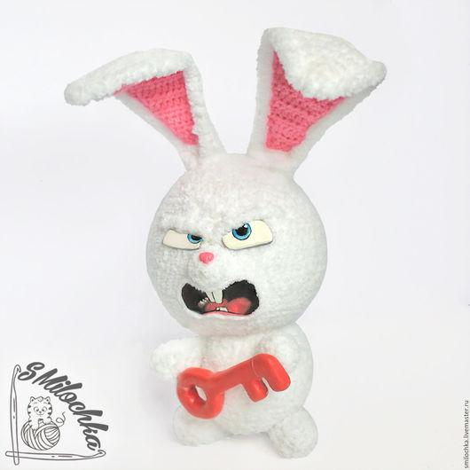 Игрушки животные, ручной работы. Ярмарка Мастеров - ручная работа. Купить Кролик Снежок вязаный. Handmade. Белый, тайная жизнь