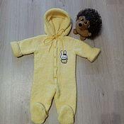 Одежда детская handmade. Livemaster - original item Romper baby. Knitted Romper. Jumpsuit for a newborn.. Handmade.