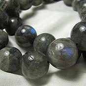 Материалы для творчества handmade. Livemaster - original item Labradorite beads 12mm, smooth ball. Handmade.