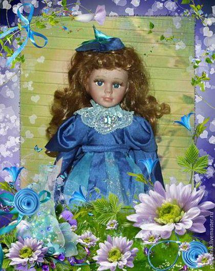 Коллекционные куклы ручной работы. Ярмарка Мастеров - ручная работа. Купить Эльф Колокольчик - фарфоровая кукла 30 см в авторском костюме. Handmade.