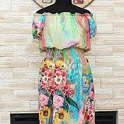 Одежда ручной работы. Ярмарка Мастеров - ручная работа Платье Лето,ах лето...... Handmade.