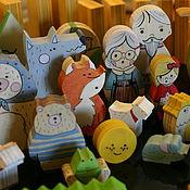 Куклы и игрушки ручной работы. Ярмарка Мастеров - ручная работа Набор Наши сказки.. Handmade.