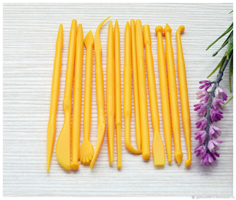 Набор стеков для лепки, 14 штук, Инструменты для украшений, Пушкино,  Фото №1