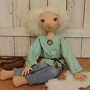Куклы и игрушки ручной работы. Ярмарка Мастеров - ручная работа Ангел в джинсах. Handmade.