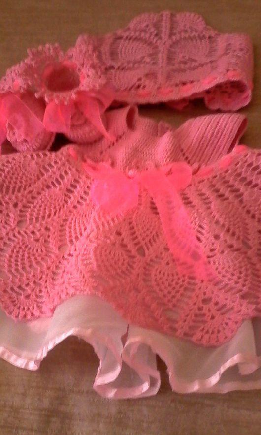 Одежда для девочек, ручной работы. Ярмарка Мастеров - ручная работа. Купить платье для девочки от 6 месяцев. Handmade. Для девочки
