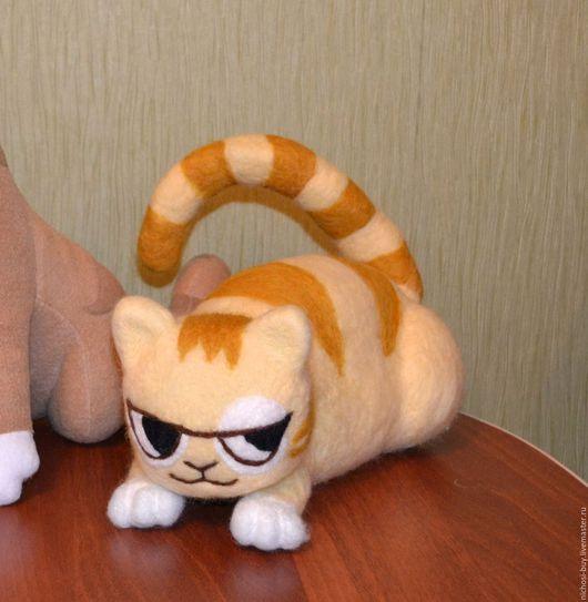 """Развивающие игрушки ручной работы. Ярмарка Мастеров - ручная работа. Купить Мягкая игрушка кот """"Персик"""" из стекеров Вконтакте. Handmade."""